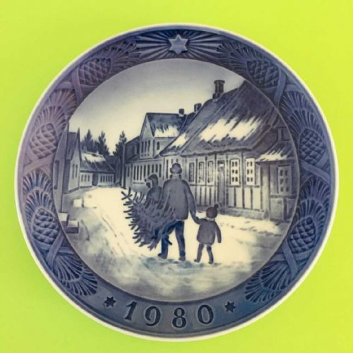 Royal Copenhagen - Collector - Christmas Plate - 1980